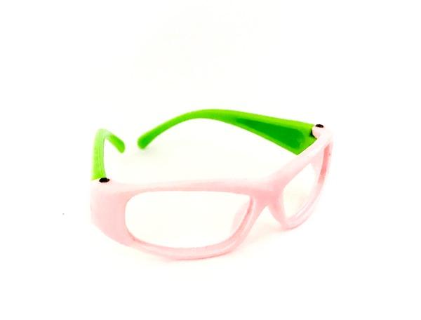 26502 Очки без стекла , пластик, А-003, 7 см , 1шт цв. р/з