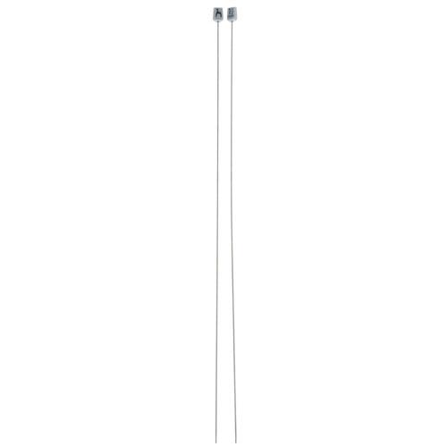 39602 Спицы прямые 1,50 мм/ 40 см, сталь, 2 шт PONY