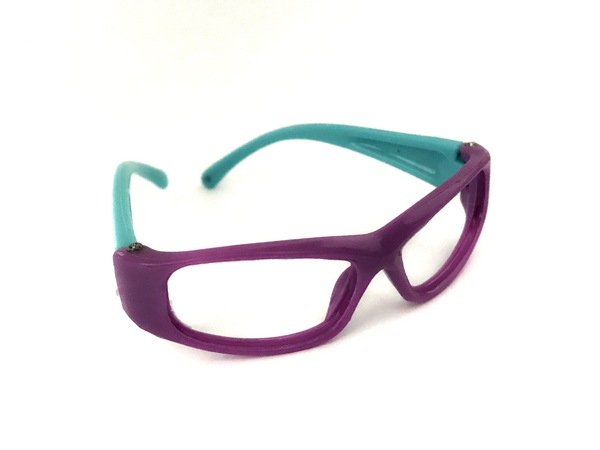 26502 Очки без стекла , пластик, А-005, 7 см , 1шт цв. ф/б