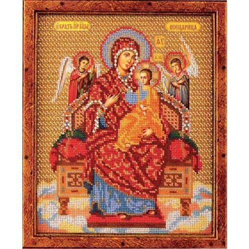 В172 Набор для вышивания бисером 'Кроше' 'Богородица Всецарица', 21x26см
