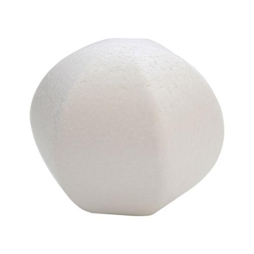 Заготовка для декорирования из пенопласта 'Многоугольный шар', 9*9см