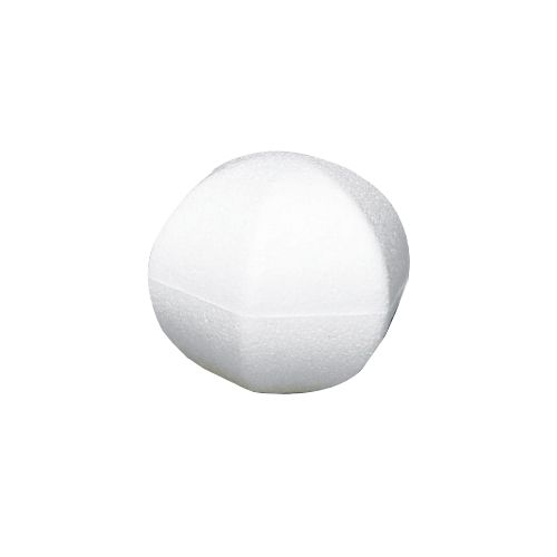 Заготовка для декорирования из пенопласта 'Многоугольный шар', 10*10см