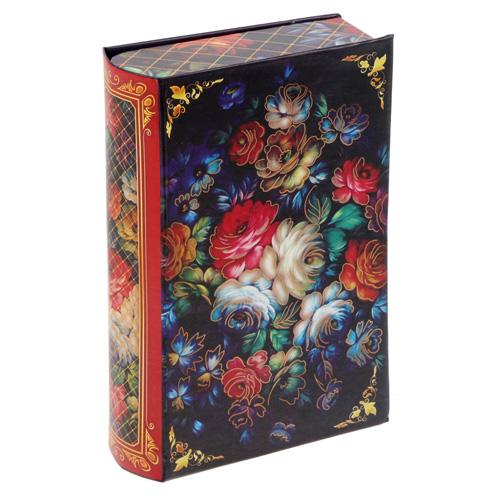 1761577 Коробка–книга подарочная «Русский стиль: жостово», 11*18 см