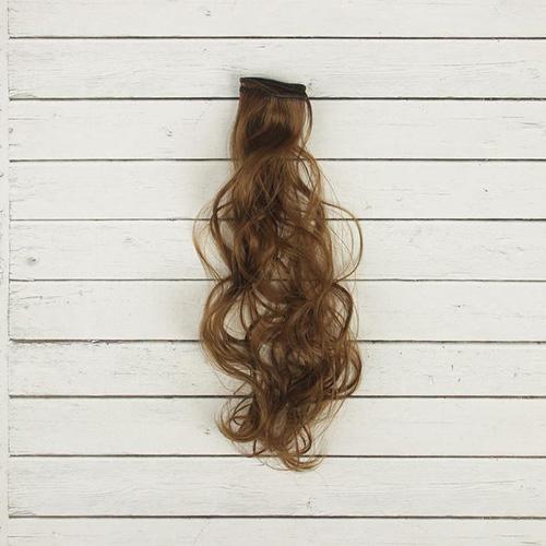 2294362 Волосы - тресс для кукол 'Кудри' длина волос 40 см, ширина 50 см