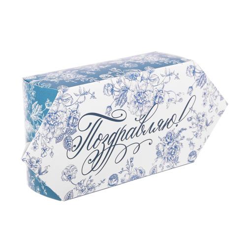 3114501 Сборная коробка–конфета «Поздравляю!», 9*15*5 см