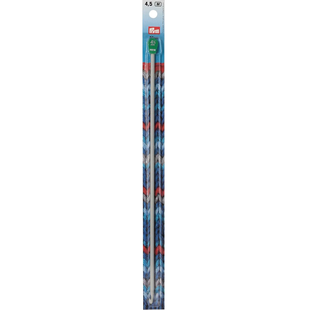 195218 Крючок для вязания тунисский, 4,5 мм*30 см, Prym