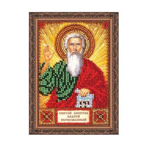 ААМ-002 Набор для вышивания бисером 'Святой Андрей' 10*15см