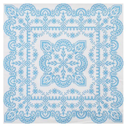 ККПН 02(бязь) Набор наволочка на подушку для вышивки крестом « Зимняя сказка» 45*45см