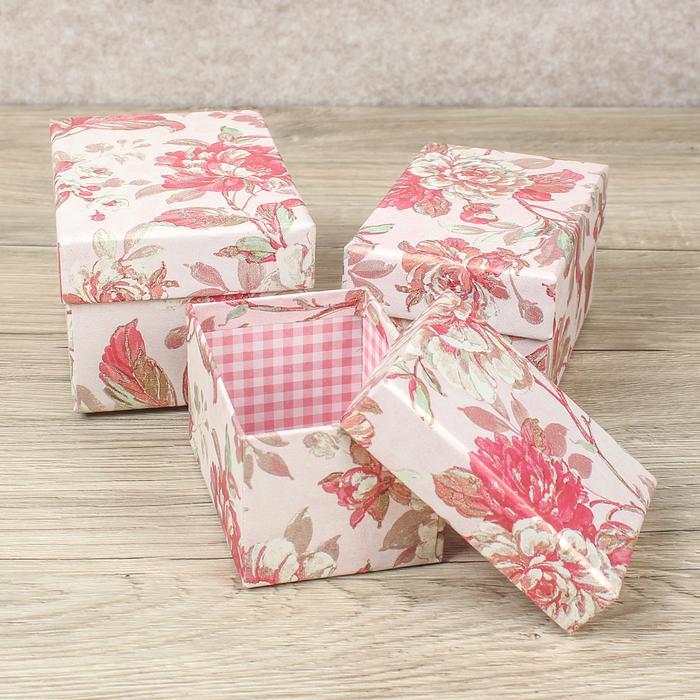 2654582 Набор коробок 3 в 1, 14 х 10 х 8 - 10 х 7,5 х 6 см