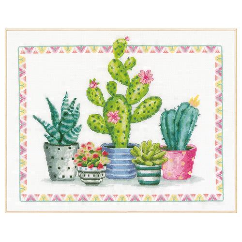 PN-0174387 Набор для вышивания Vervaco 'Уголок с растениями' 36*30см