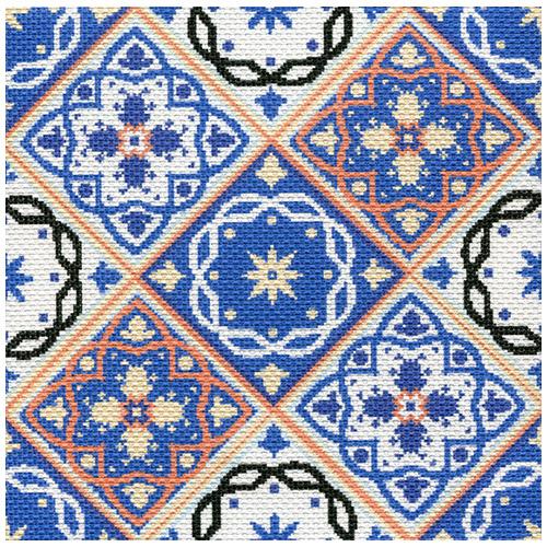 1747/Н Набор для вышивания Матренин Посад 'Иллюзия'34х34см