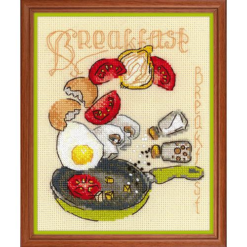 1684 Набор для вышивания Риолис 'Завтрак' 15*18см