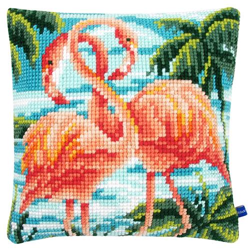 PN-0155019 Подушка Vervaco 'Фламинго' 40*40см