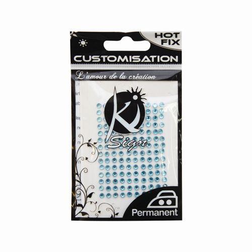KS-C-STRASS-3 Термоклеевые стразы стеклянные 3мм, 140шт Ki Sign