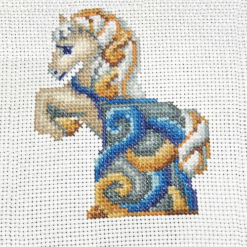 С-37 Набор для вышивания 'Статуэтки. Лошадь' 11*12см