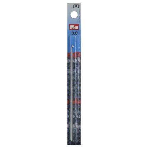 195183 Крючок для вязания, алюминий, 3,0 мм*14 см, Prym