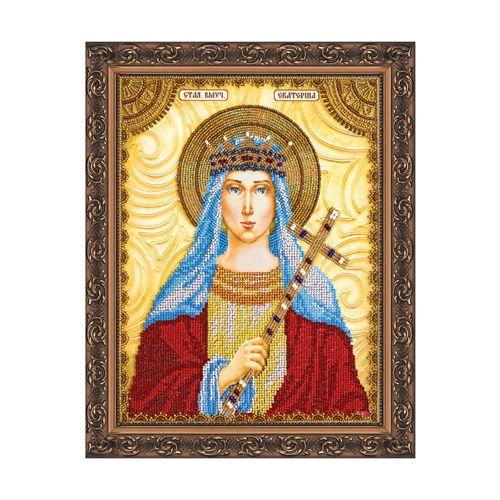 ААМ-023 Набор для вышивания бисером 'Абрис Арт' 'Святая Екатерина', 10*15 см