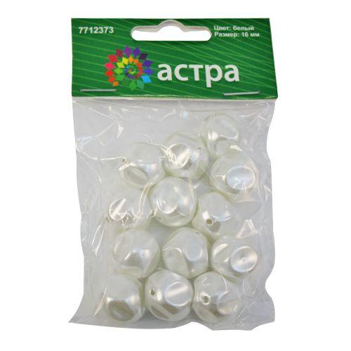 Бусины пластиковые, 3619#, 16 мм, упак./13 шт., 'Астра'