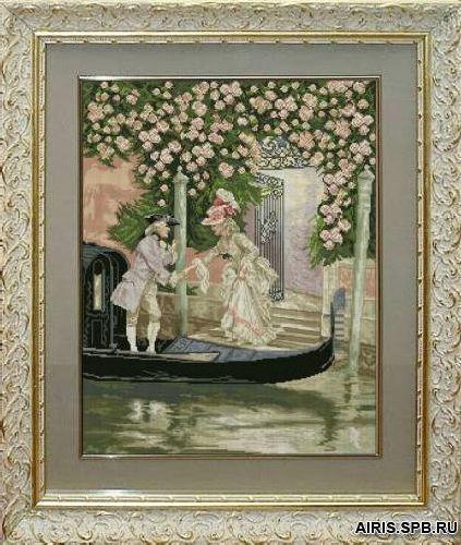 20812 Набор для вышивания Краса и творчество 'Венецианские мотивы' 40*50,9 см