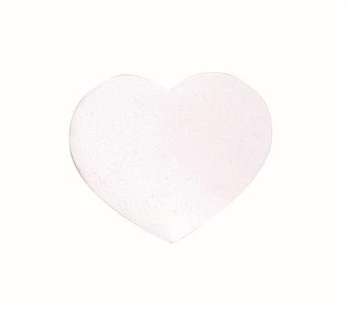 61212850 Сердца бархатные, белый Glorex