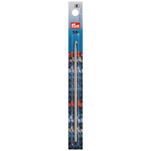 195138 Крючок с направляющей площадью, алюминий, 3,5мм*14 см, Prym