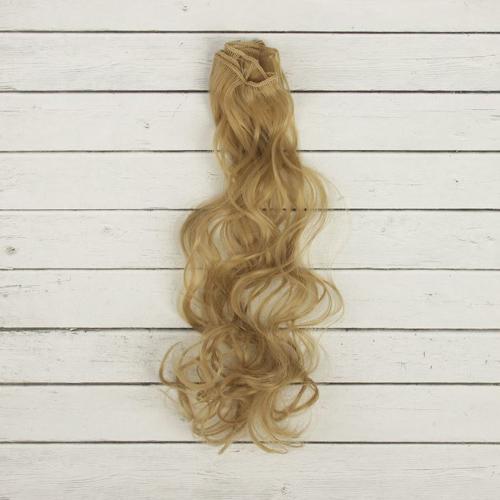 2294338 Трессы для кукол 'Кудри' длина волос 40 см, ширина 50 см, № 24