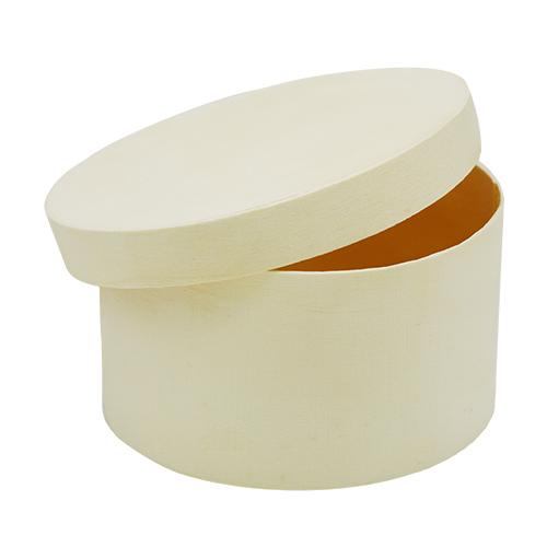 62003105 Деревянная шкатулка (круглая), 10,5*5,5 см, Glorex