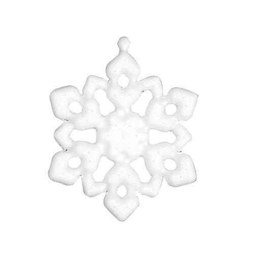 Заготовка для декорирования из пенопласта 'Снежинка (подвеска)', h 8см