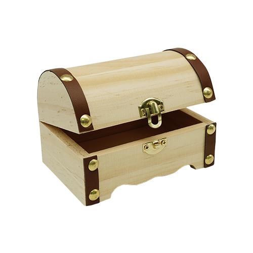 62003215 Сундук деревянный, 11,5*7,5*7,5 см, Glorex