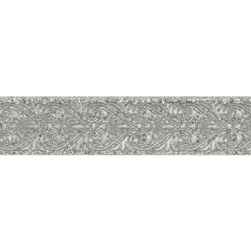 22071 Тесьма металлизированная 22мм*10м