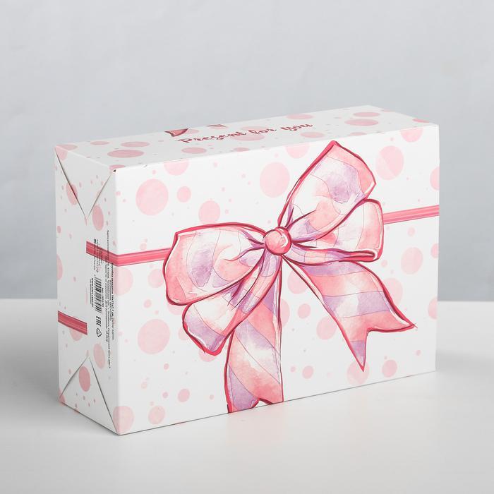 3924795 Коробка складная Present for you, 16 × 23 × 7,5 см