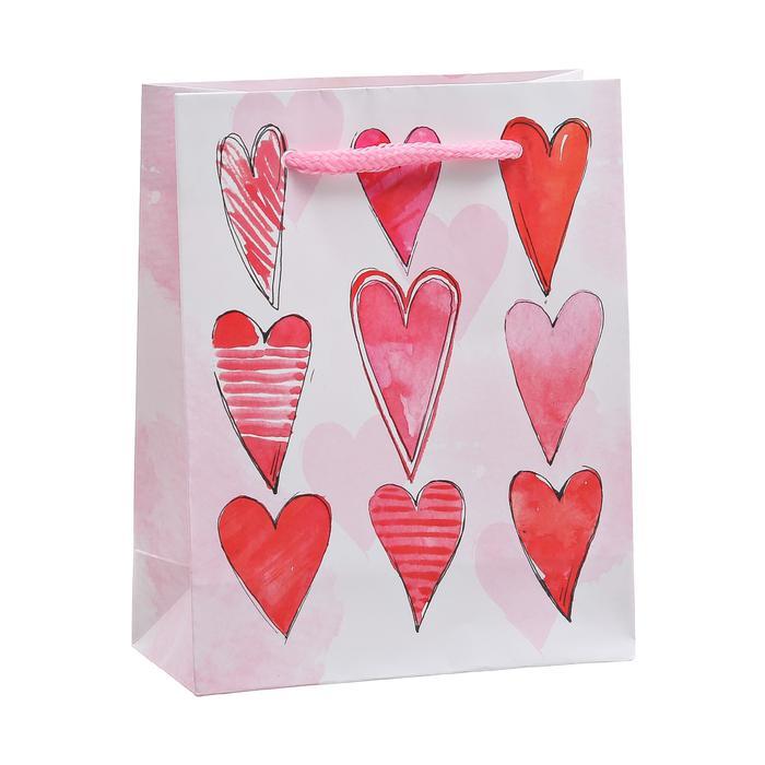 3639813 Пакет ламинированный вертикальный «Любовь‒волшебное чувство», S 12 × 15 × 5.5 см
