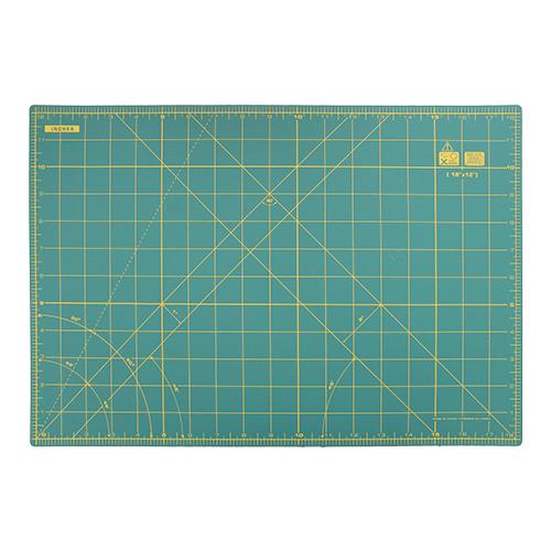 611386 Коврик-подложка для раскройных ножей, зеленый цв. см/дюйм 45 см 30 см Prym