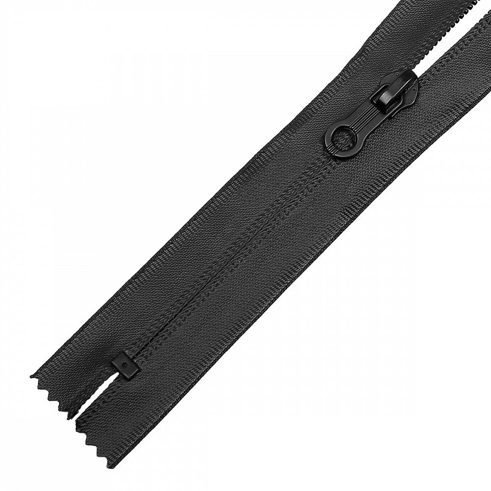 Молния MaxZipper спираль №7-N водонепроницаемая 18см цв.F322 черный, FСВ5N18322