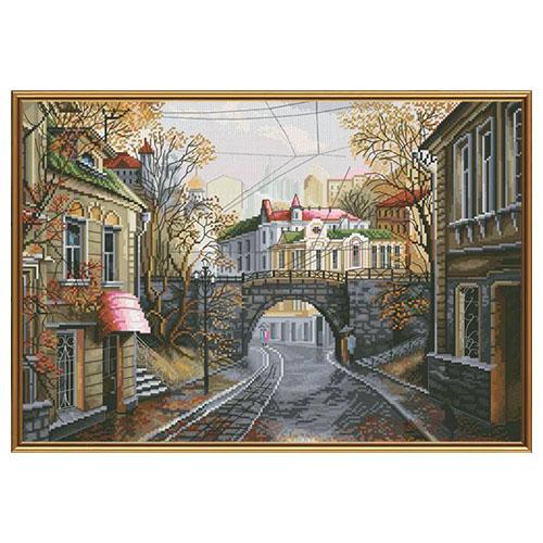РЕ2334 Набор для вышивания 'Нова Слобода' 'Старый мост', 38x26 см