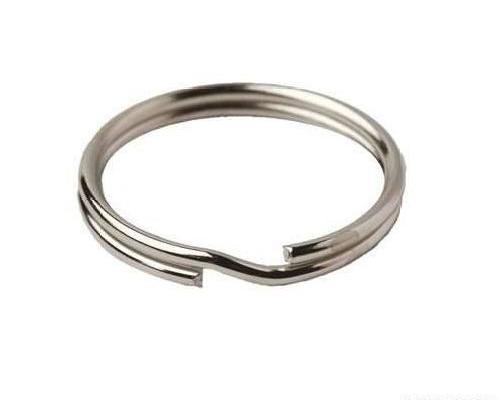 Кольцо для ключей 815-001, d=20*3мм, никель