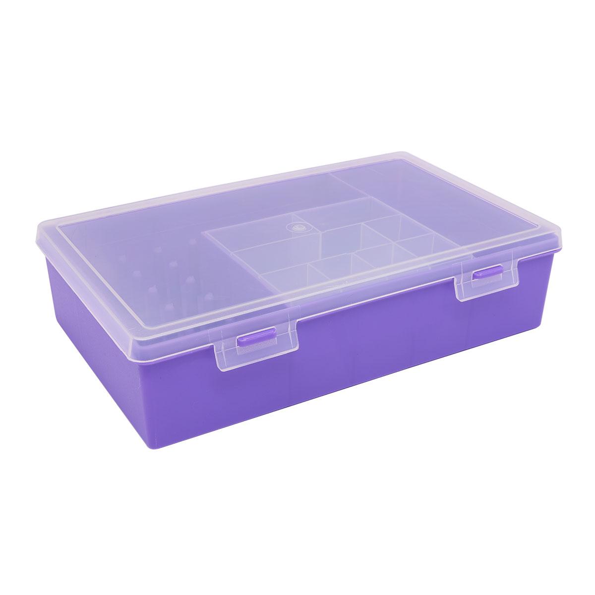 2868-4 ОРГАНАЙЗЕР для швейных принадлежностей фиолетовый