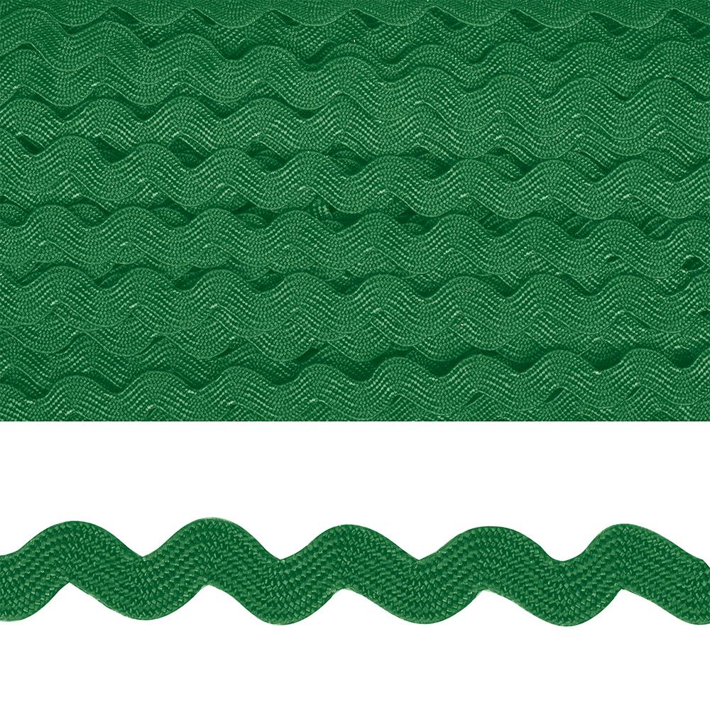 Тесьма декоративная 'Вьюнчик' арт.TBY.64312 шир.5мм цв.F243 зеленый уп.32,92м, TBY64312F243