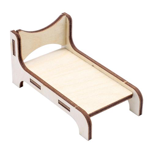 L-1128 Деревянная заготовка Набор кроватей 2шт 11*11см АСТРА