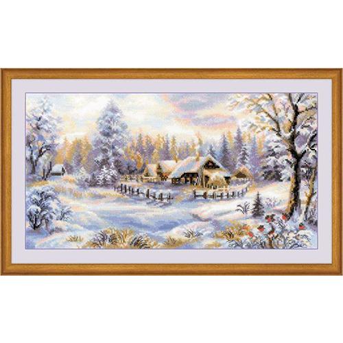 1427 Набор для вышивания Riolis 'Зимний вечер', 41*23 см