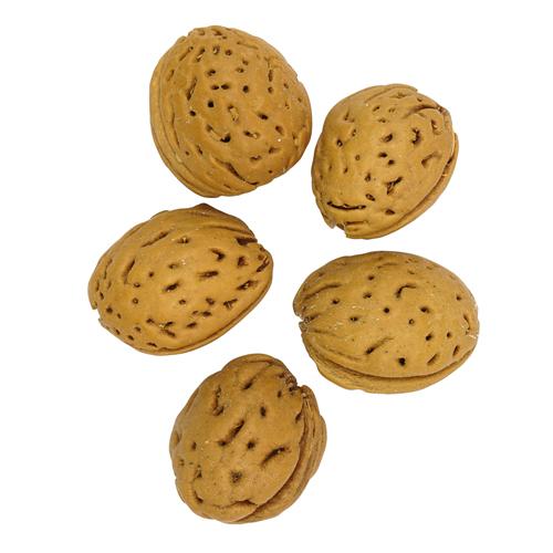 17FT01354 Бусина натуральный орех, 50 гр/упак