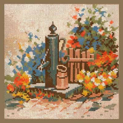 2525-130 MONIKA DESIGN Канва с нанесенным рисунком 25х25 см