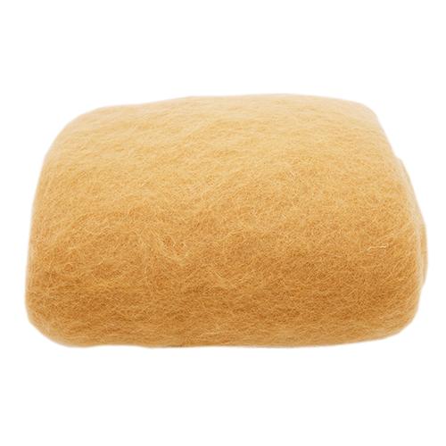 Кардочес для валяния и рукоделия, 100% полутонкая шерсть,100гр