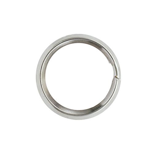 Кольцо для ключей 815-001, d=22*4мм, никель