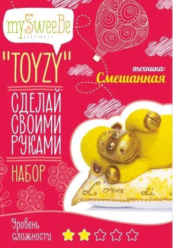 TZ-M002 Набор для творчества 'Овечка' Toyzy