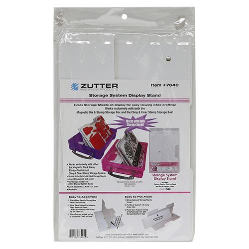 ZUT7640 Дисплей для листов для хранения штампов и форм для вырубок