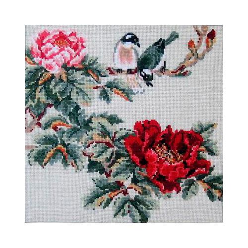 484 Набор для вышивания Riolis 'Китайские мотивы. Лето', 35*35 см