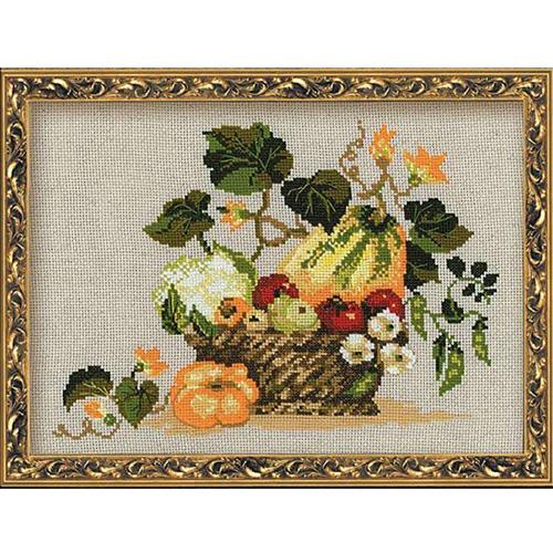 1076 Набор для вышивания Riolis 'Плоды осени', 40*30 см