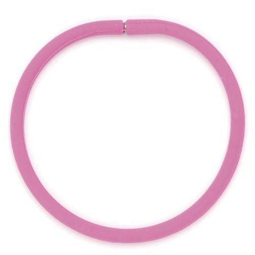 61632004 Силиконовые браслеты 21 см, 3шт, ярко-розовый цв. Glorex