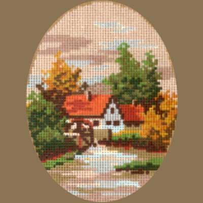 R1520-065 MONIKA DESIGN Канва с нанесенным рисунком 15х20 см